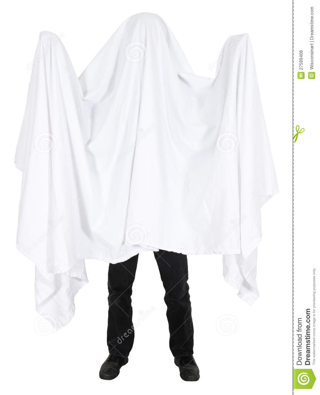 bed sheet ghost Nobody who makes a serious movie about ghosts ever depicts his spirits as  people wearing bed sheets with eyeholes — that's a cut-rate.