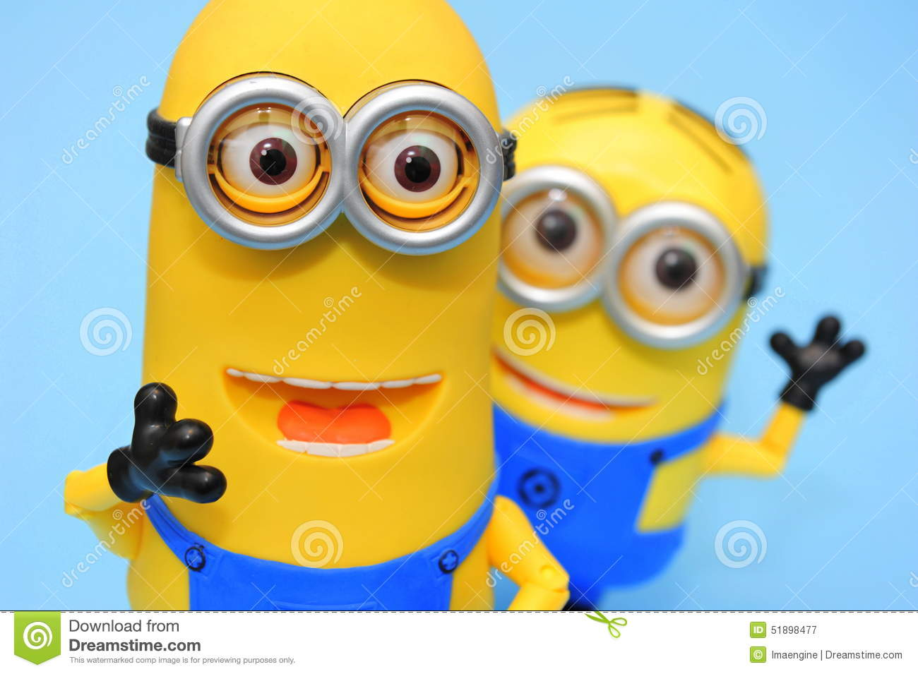 Funny Minions: Kevin And Dave Editorial Photography - Image: 51898477