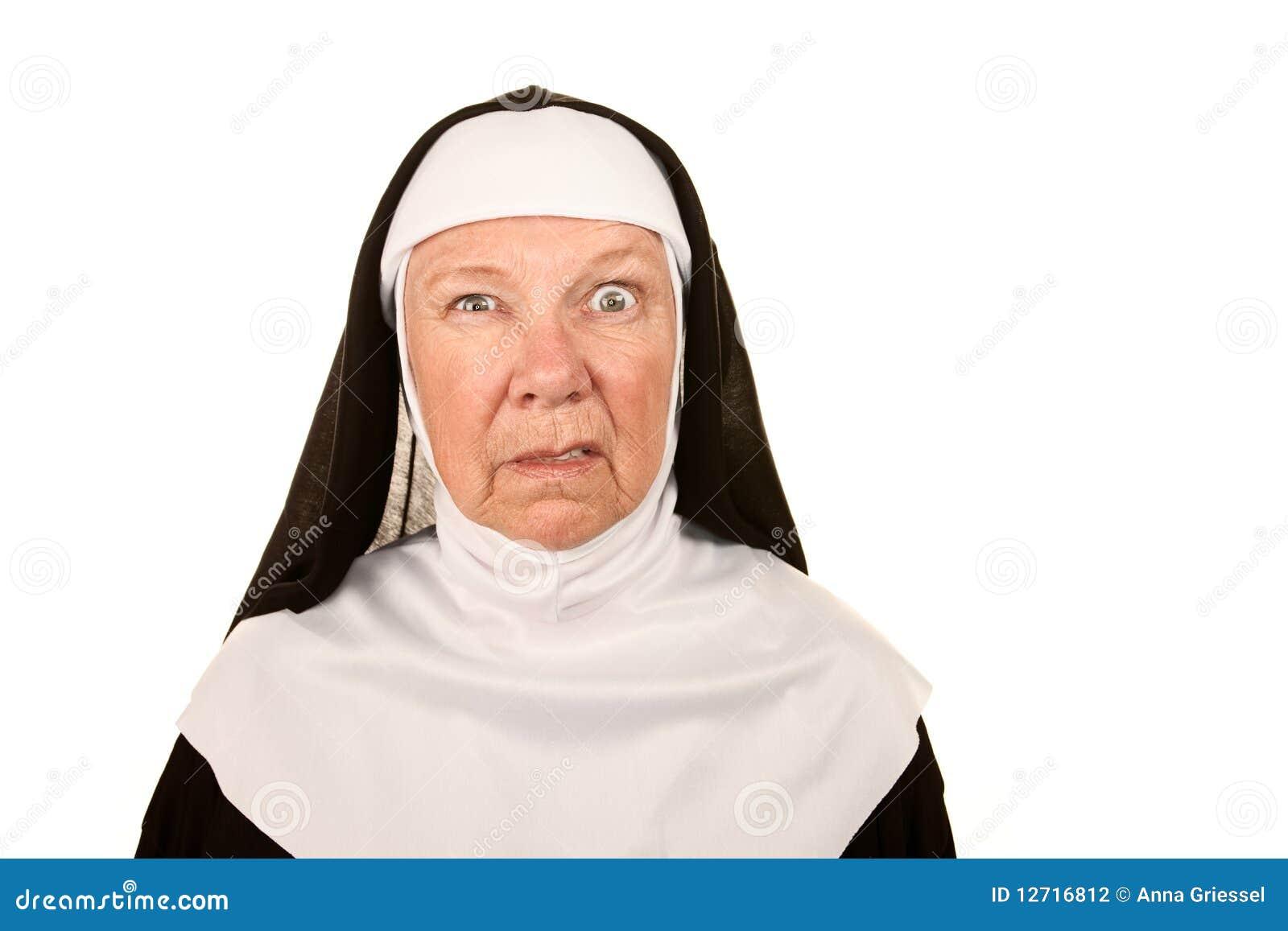 Funny Nun Stock Photography - Image: 12716812