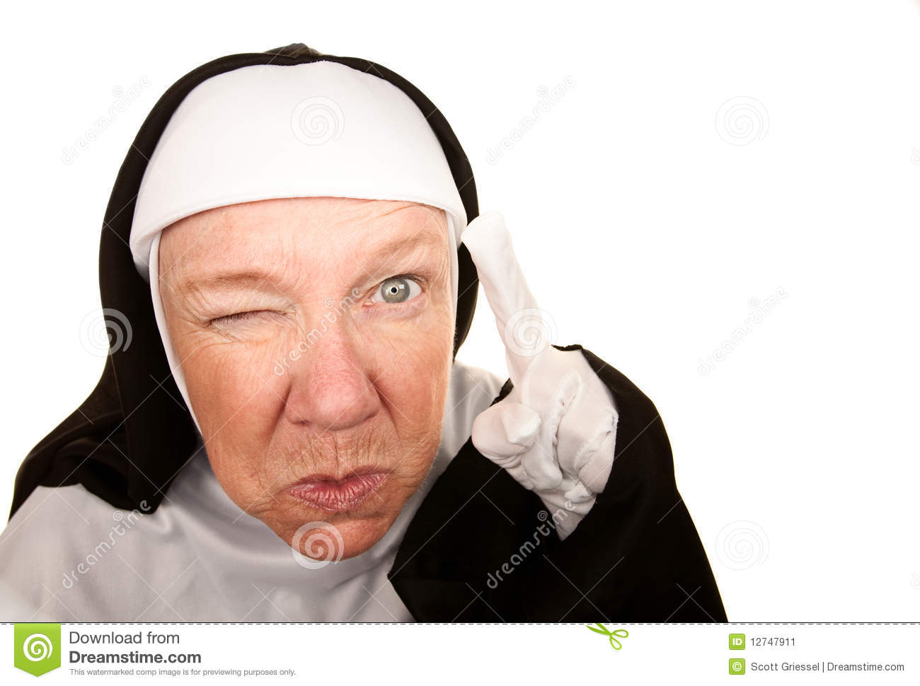 funny nun stock image image 12747911 mother and daughter cooking clipart mother daughter clipart free