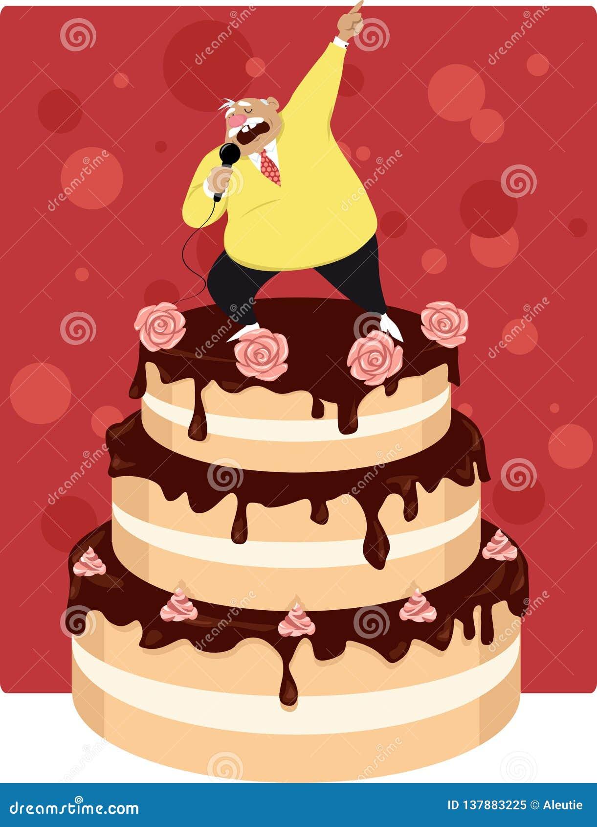 Old Man Birthday Cake Stock Illustrations 82 Old Man Birthday Cake Stock Illustrations Vectors Clipart Dreamstime