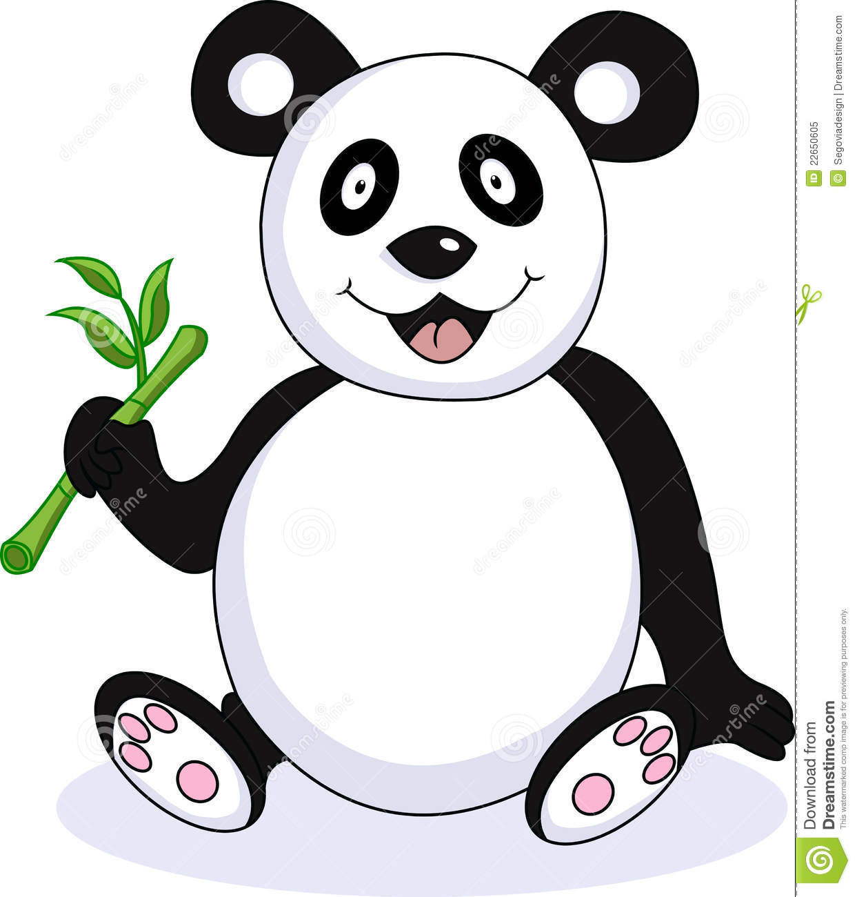 cute baby panda drawings