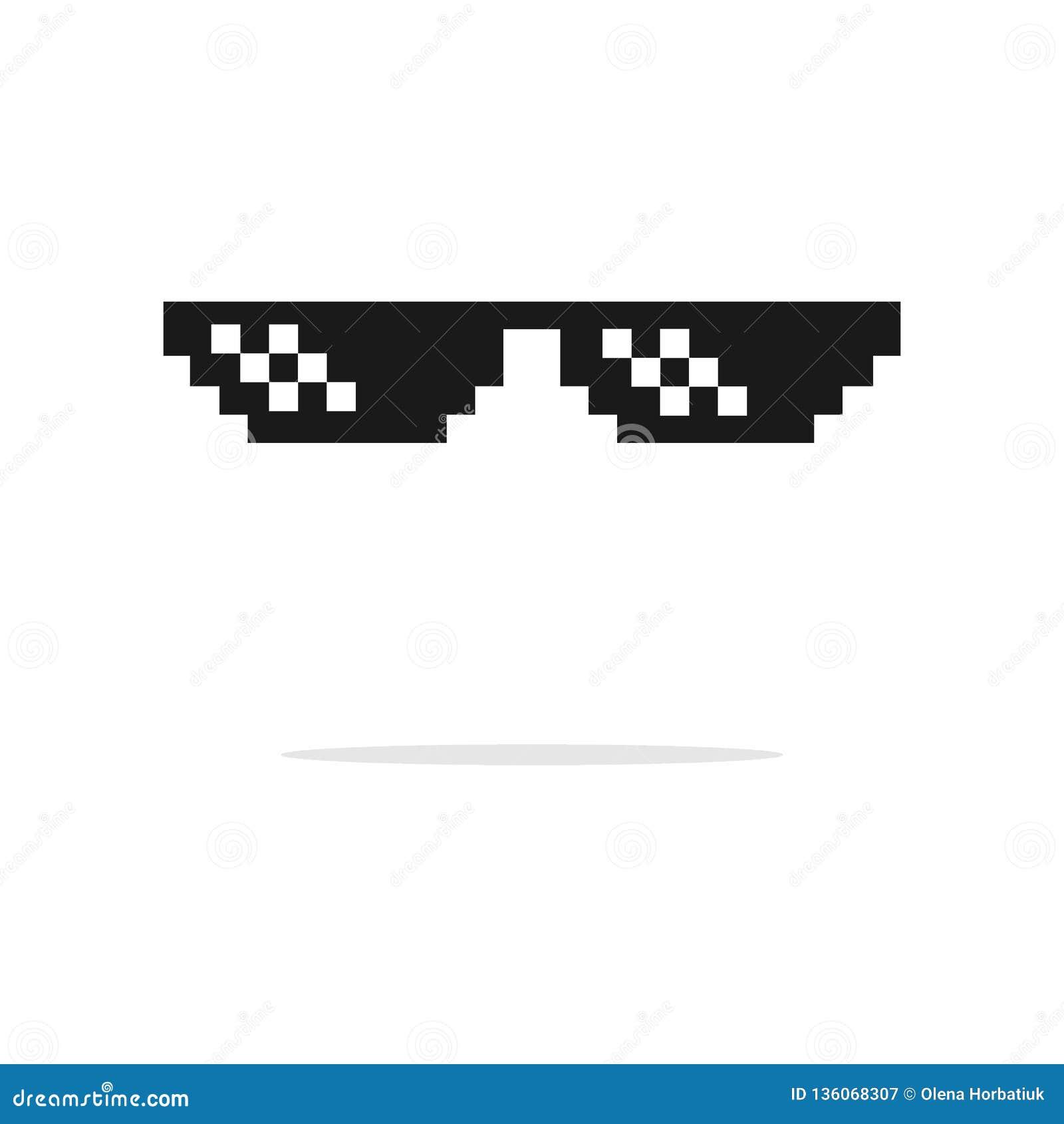 5eb008e64cd Sunglasses Pixel Stock Illustrations – 339 Sunglasses Pixel Stock  Illustrations