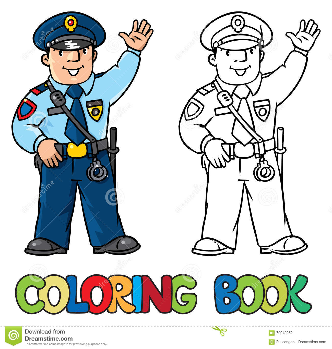 Awesome Police Coloring Books Gallery - New Coloring Pages ...