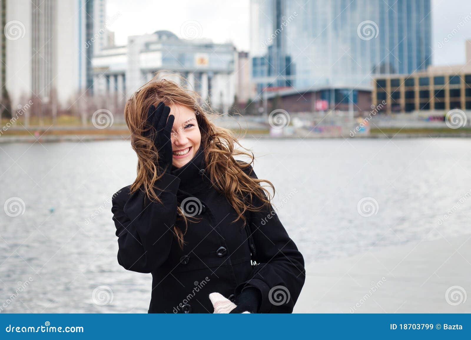 Funny portrait of girl