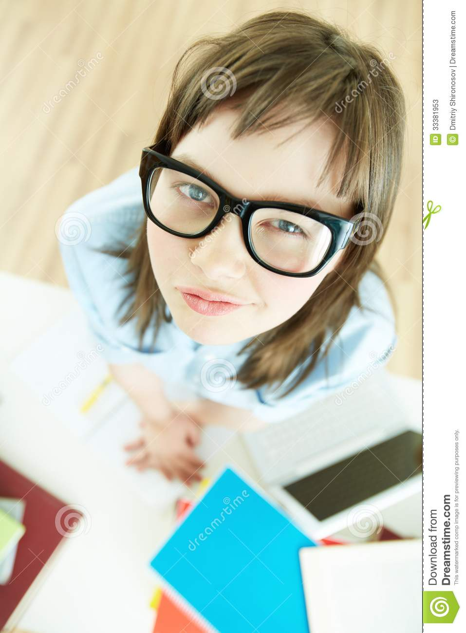 Funny Pupil Stock Photos - Image 33381953-7930