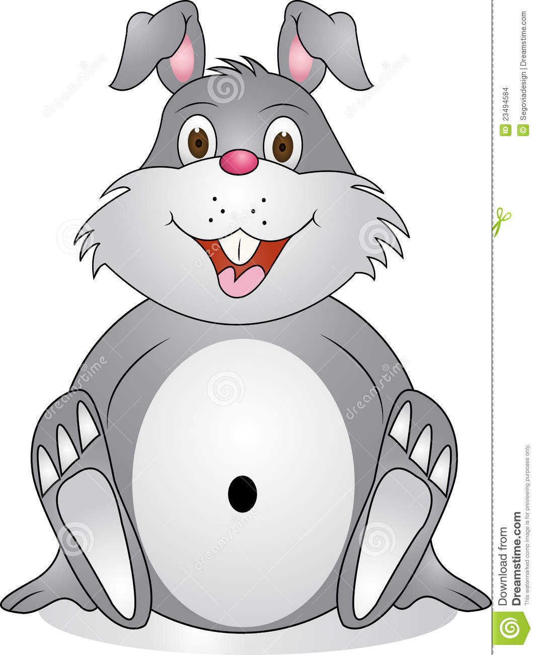Stock Images: Funny rabbit cartoon