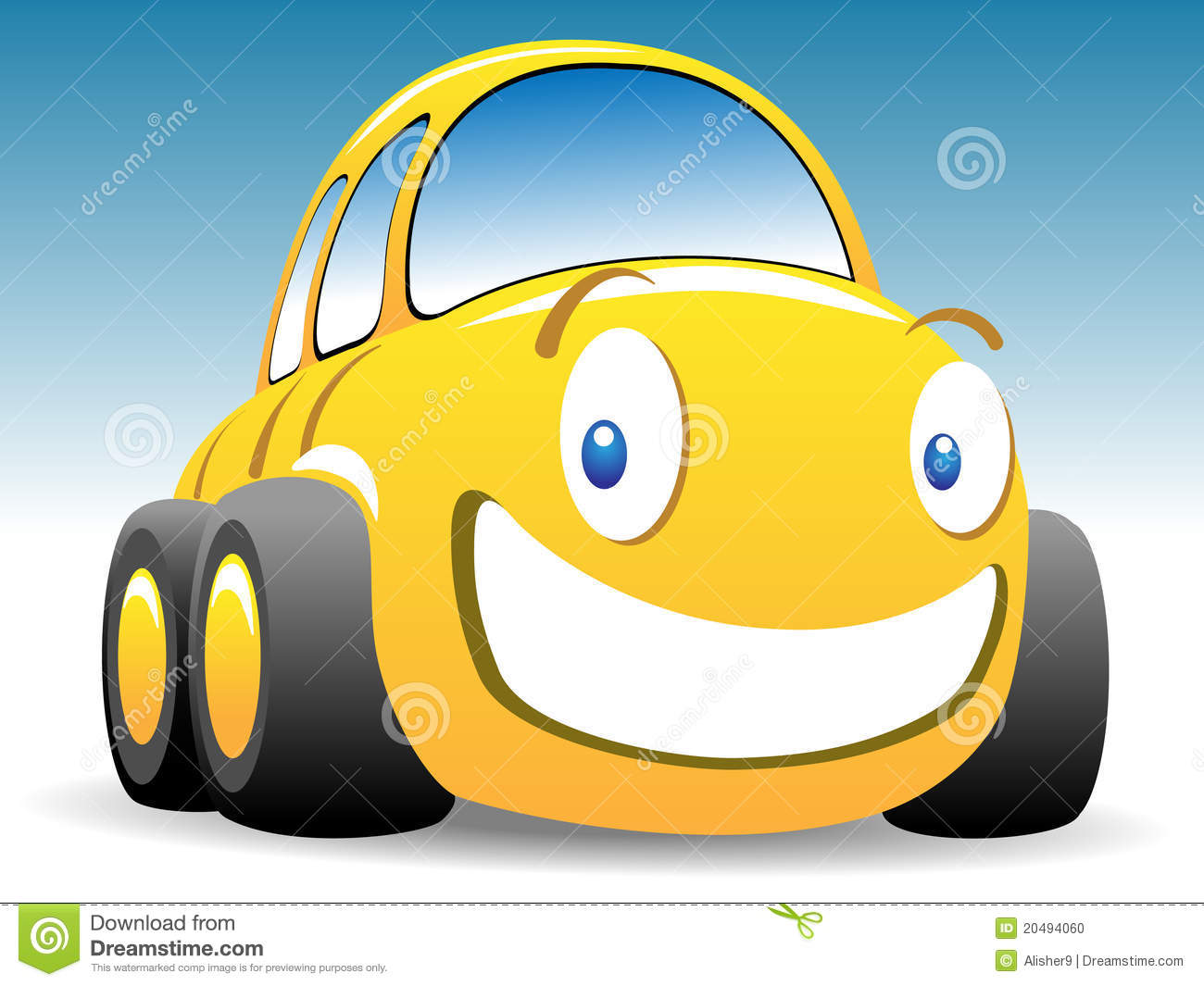 Funny race car stock vector. Illustration of speed, rally ... (1300 x 1065 Pixel)