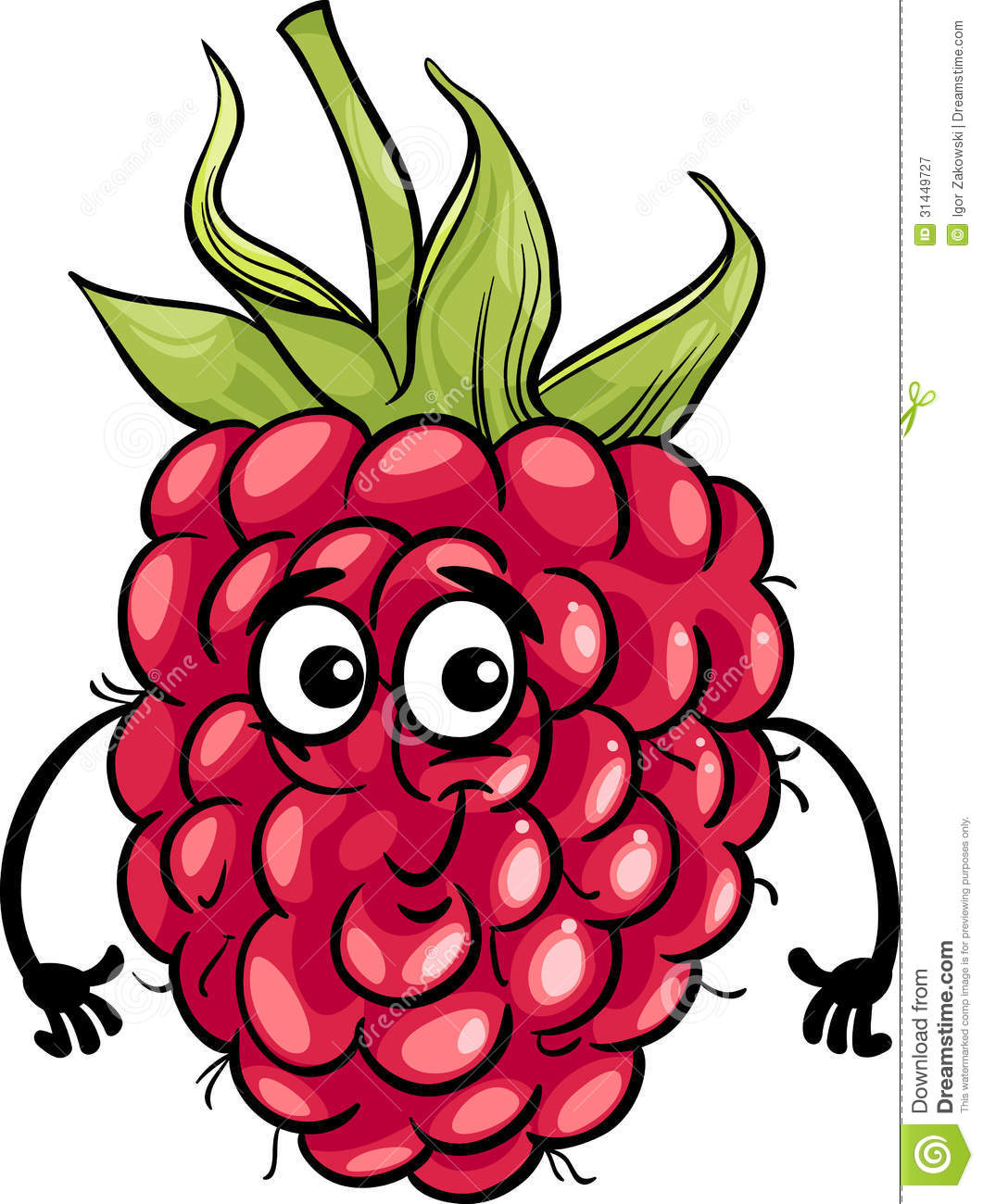 Royalty Free Stock Photography Funny Raspberry Fruit Cartoon Illustration Food  ic Character Image31449727 on banana cartoon character