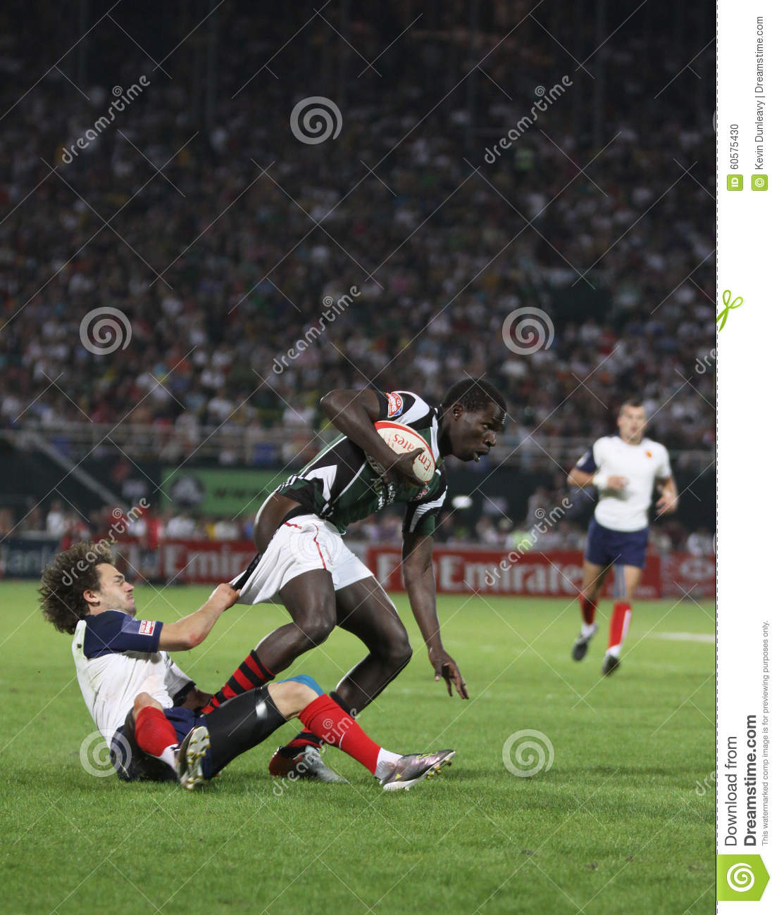 Funny Rugby Tackle Editorial Image Image Of Tackle Dubai 60575430