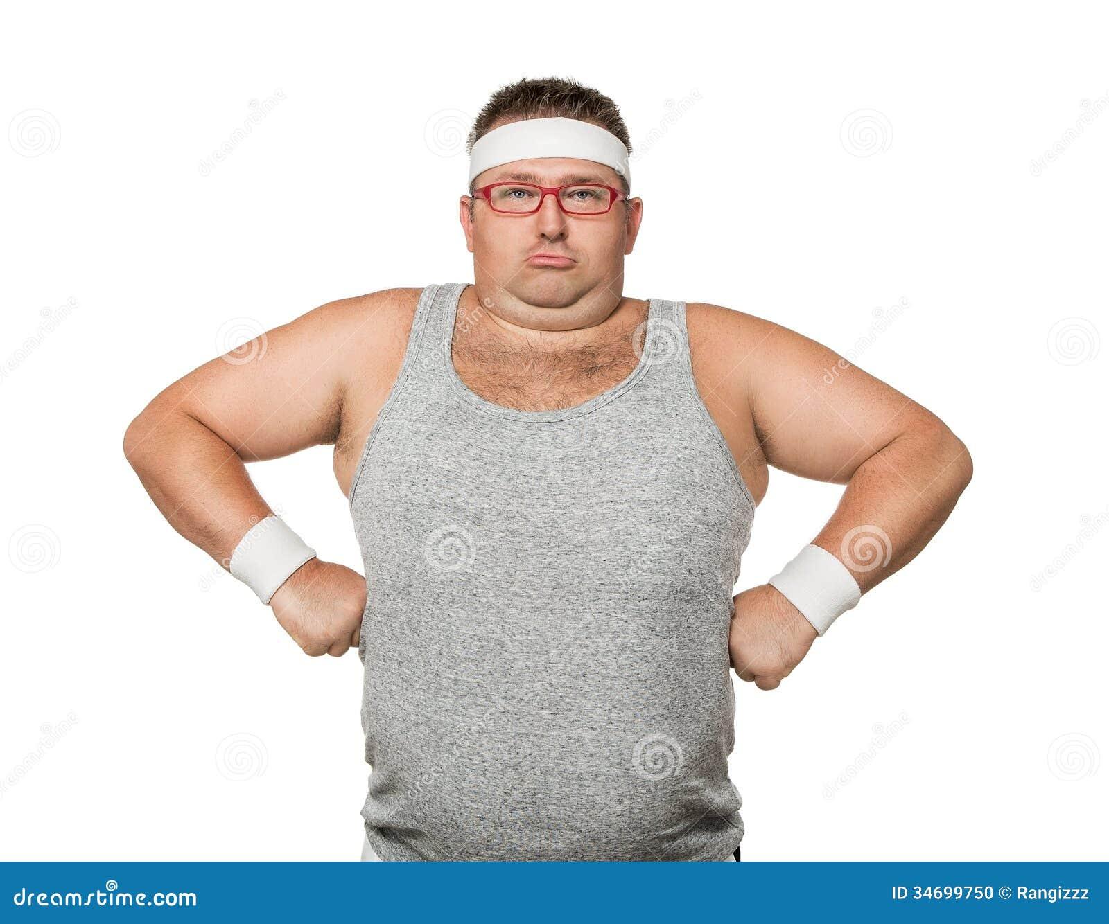 Funny Sports Man Stock Photo - Image: 34699750