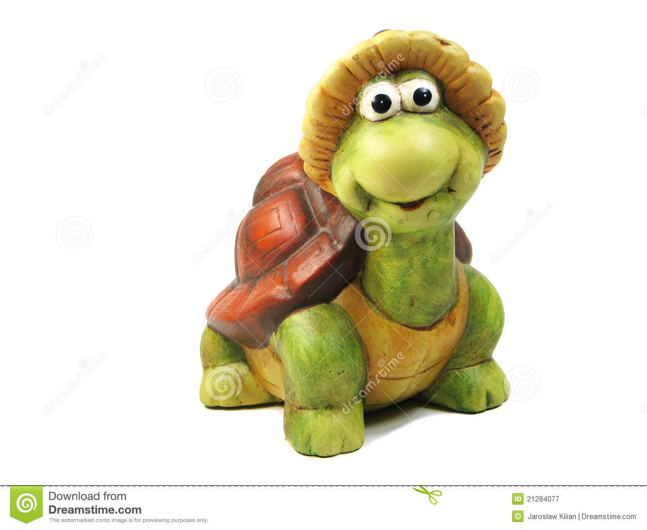 Funny Turtle Royalty Free Stock Photography Image 21284077