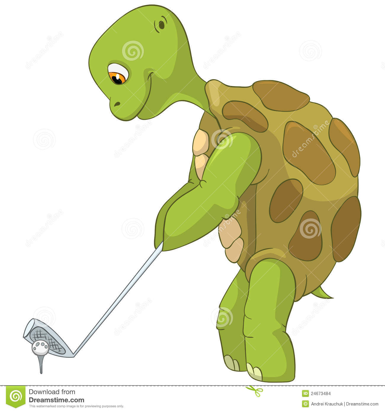 Funny Turtle. G...