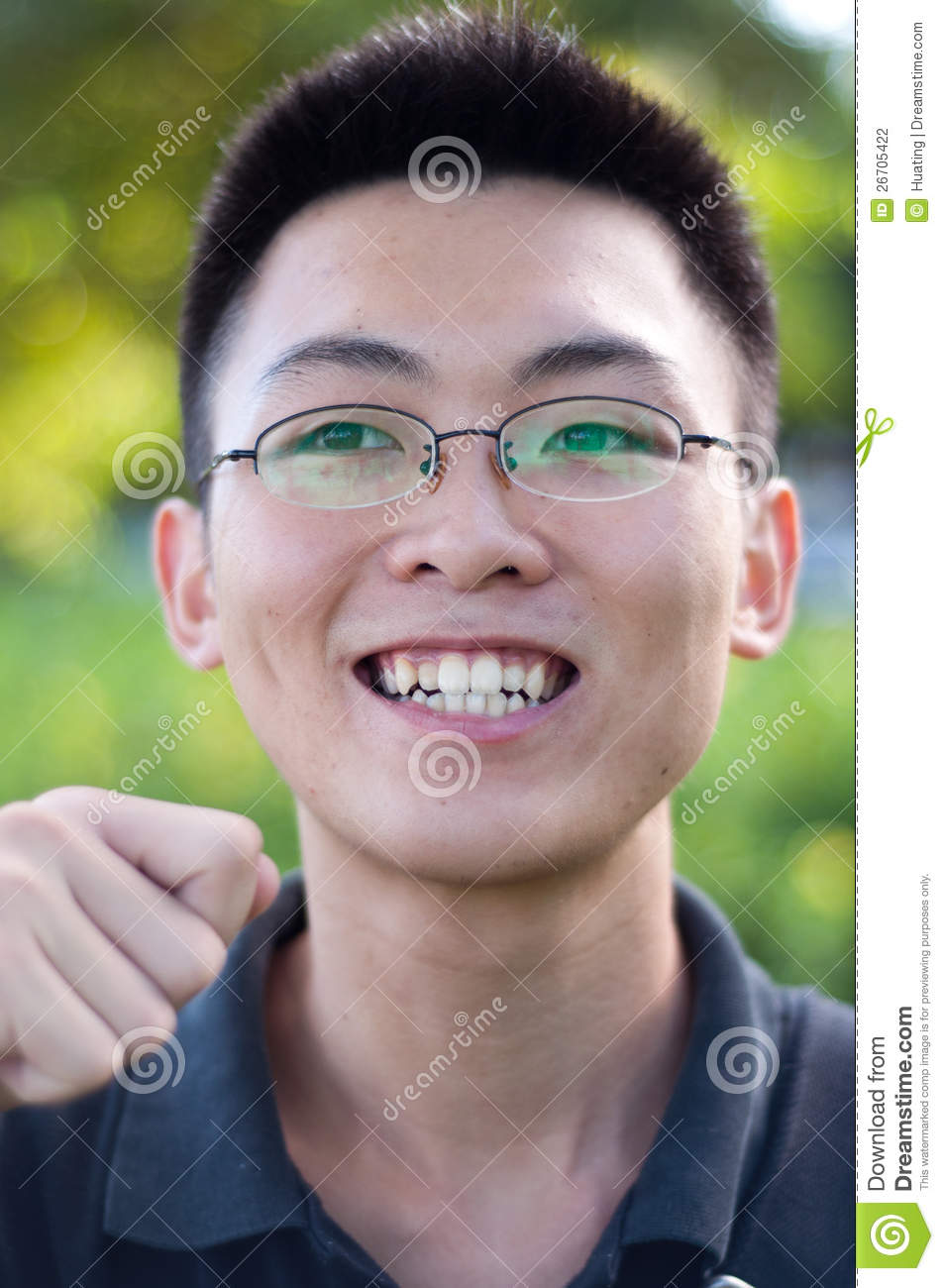Funny Young Man Portrait Stock Photo Image Of Life Face