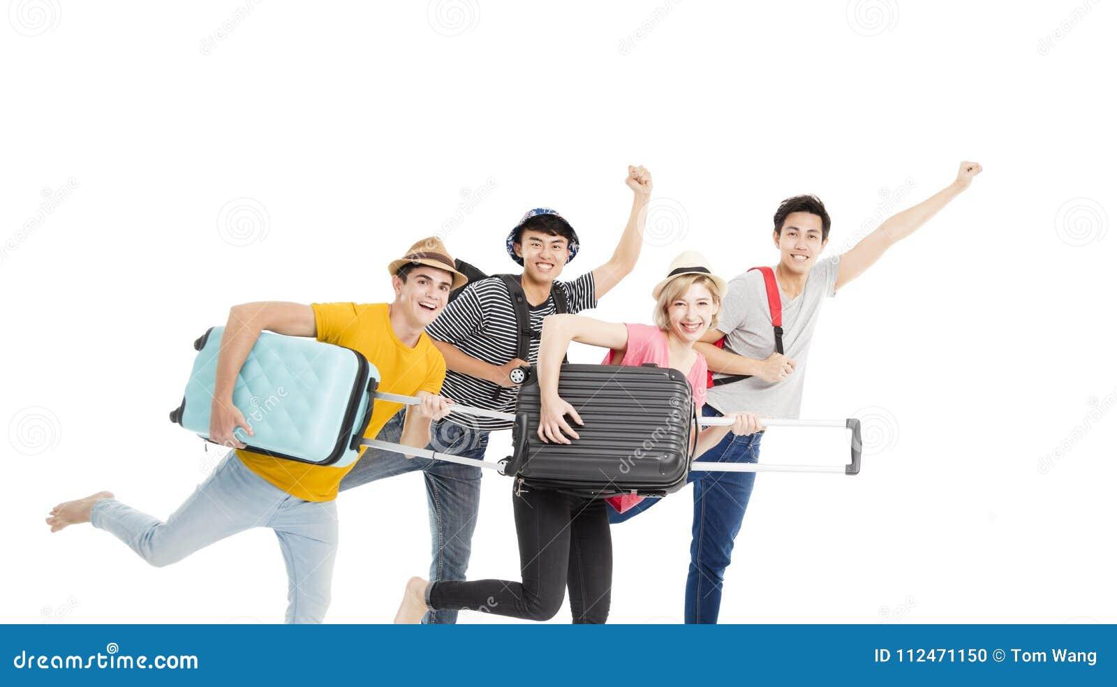 Funzionamento del gruppo e vacanza giovani godere