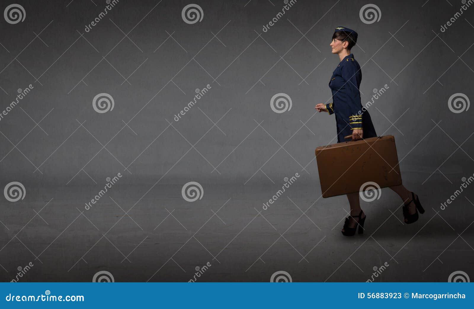 Funzionamento dell assistente di volo in una stanza vuota