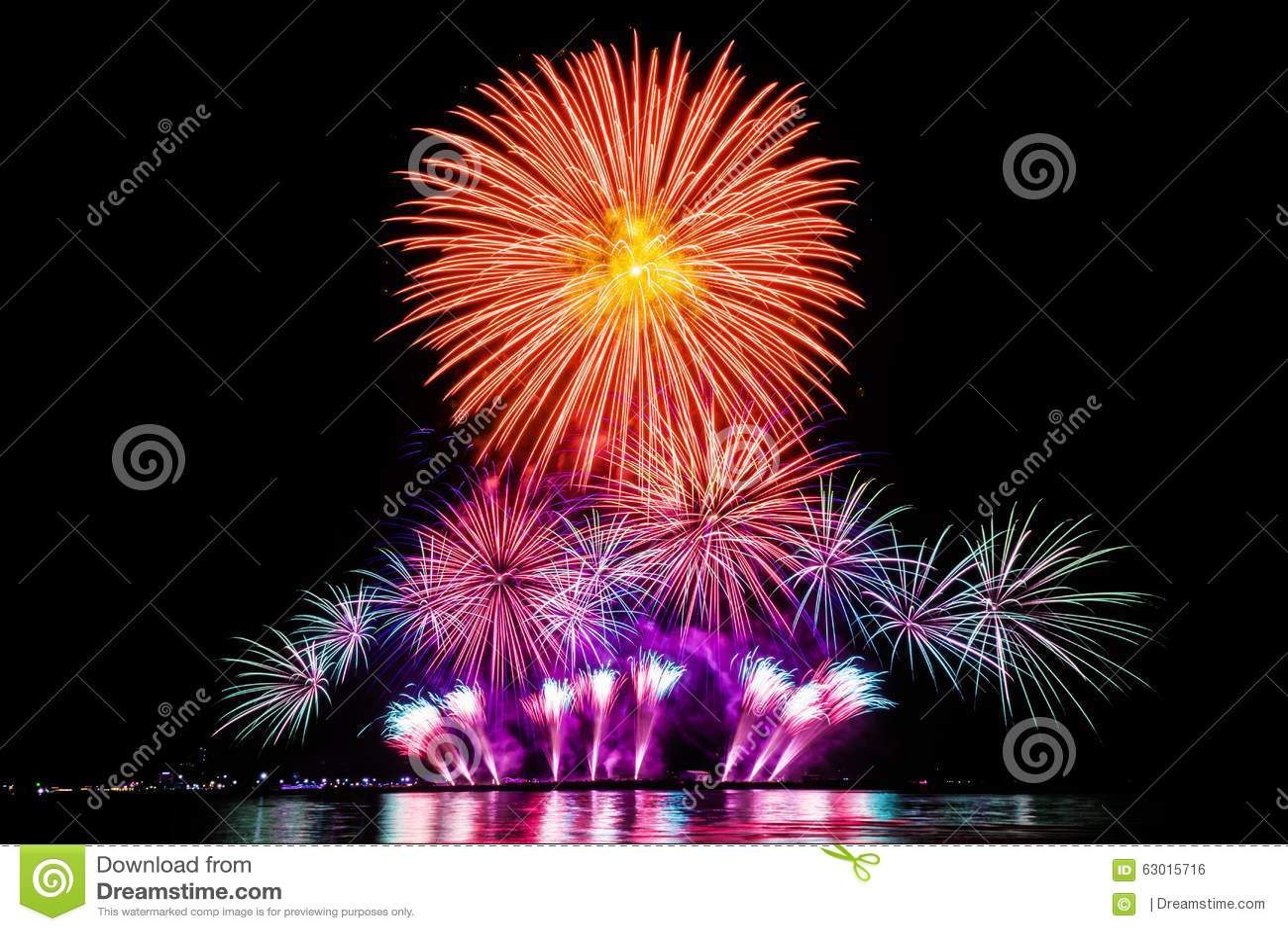 Fuochi d artificio Colourful
