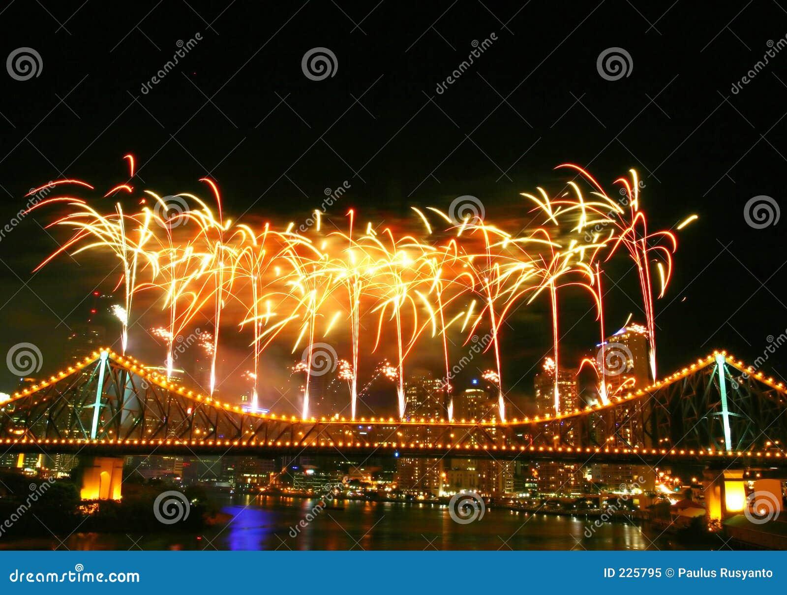 Fuochi d artificio con Copyspace