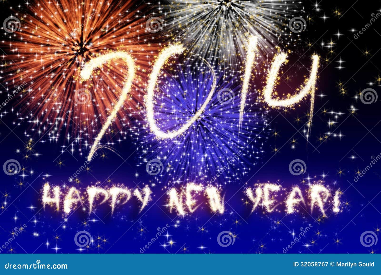 Fuochi d artificio del nuovo anno