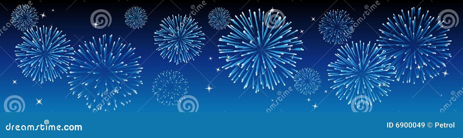 Fuochi d artificio di vettore