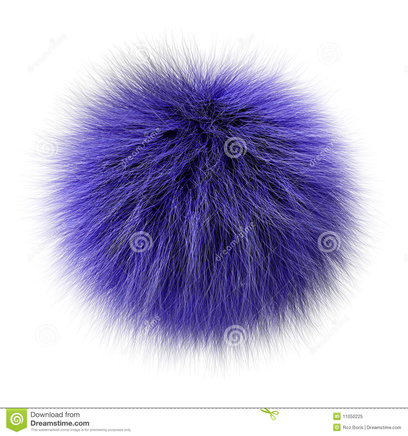 Fur Ball Stock Illustration Image Of Nature Easter