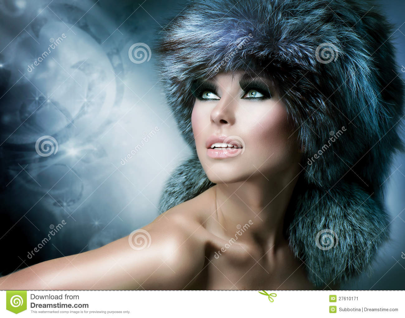 Fur Fashion Hat