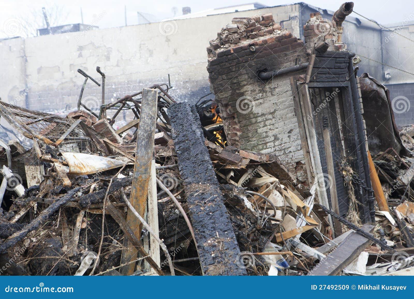 Furacão Sandy das consequências