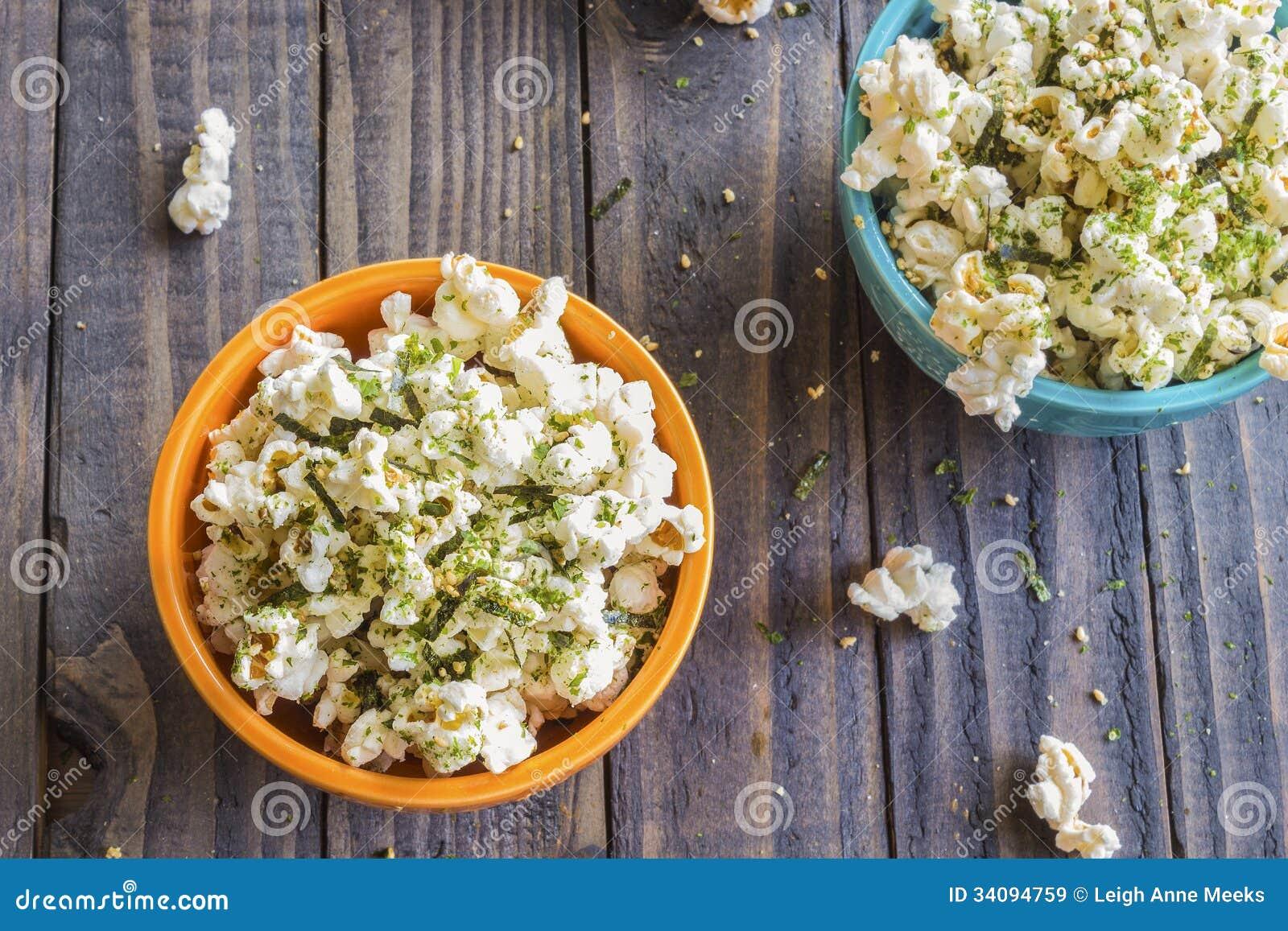 Furikake Popcorn Royalty Free Stock Images - Image: 34094759