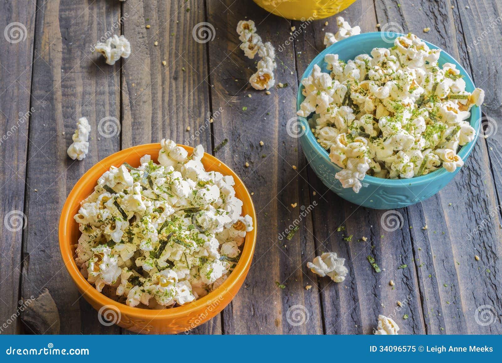 Furikake Popcorn Royalty Free Stock Photo - Image: 34096575
