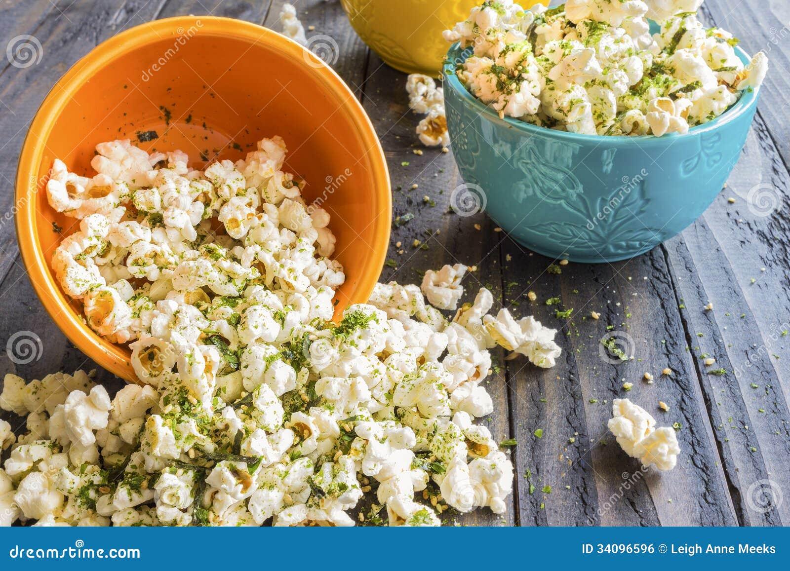 Furikake Popcorn Royalty Free Stock Image - Image: 34096596