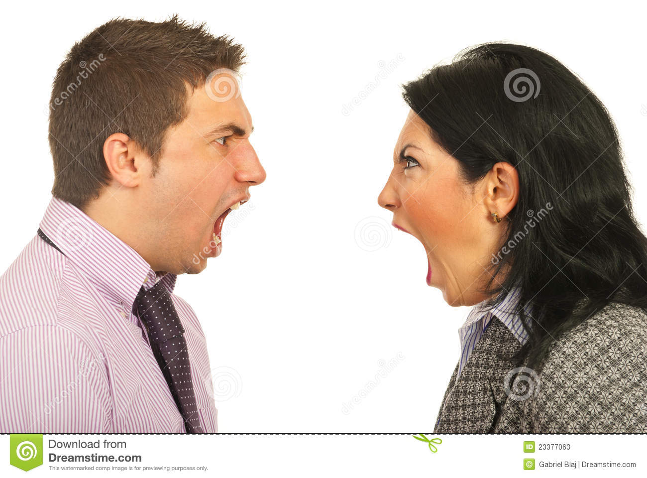 furious business people having dispute stock photos