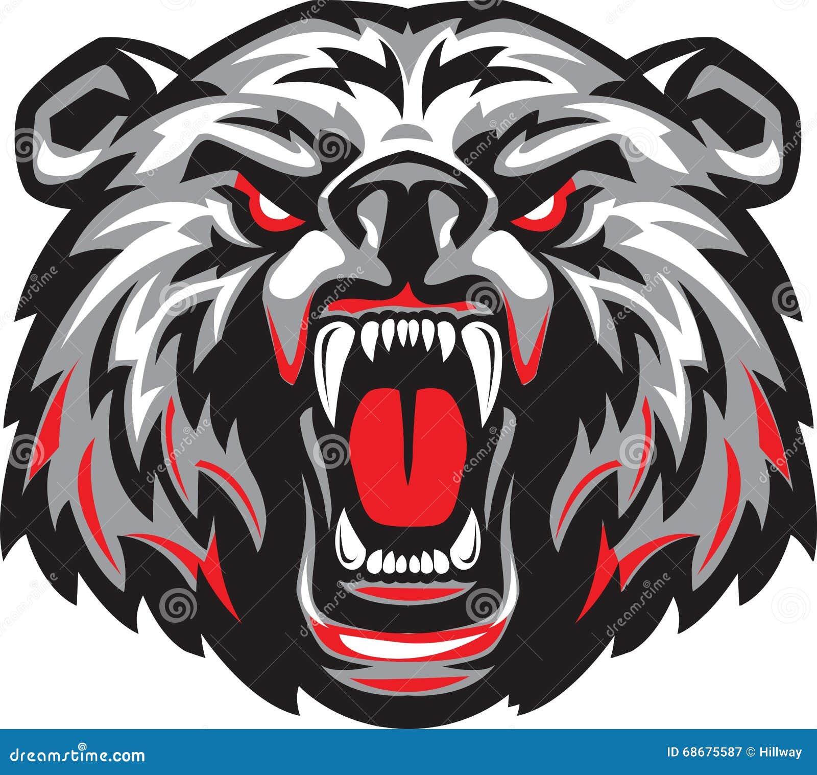 Angry Bear Logo ~ Logo Templates on Creative Market