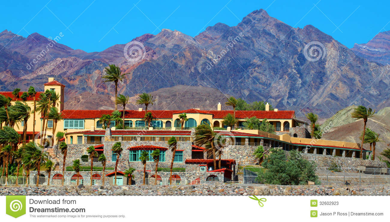 Furnace Creek Resort California Editorial Stock Photo