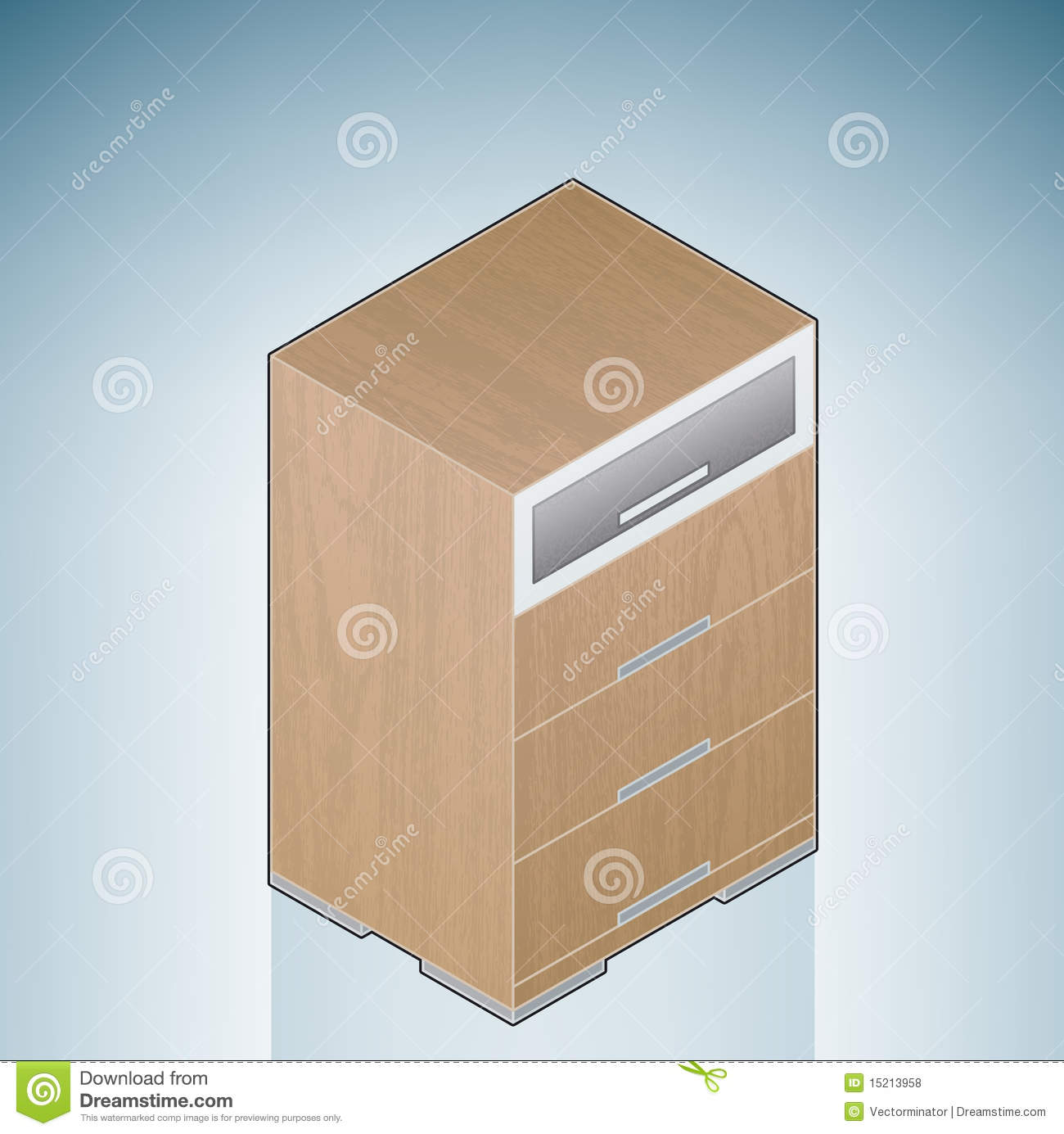 Furniture Bedroom Chest Of Drawers With Glass Royalty Free Stock Photos Image 15213958