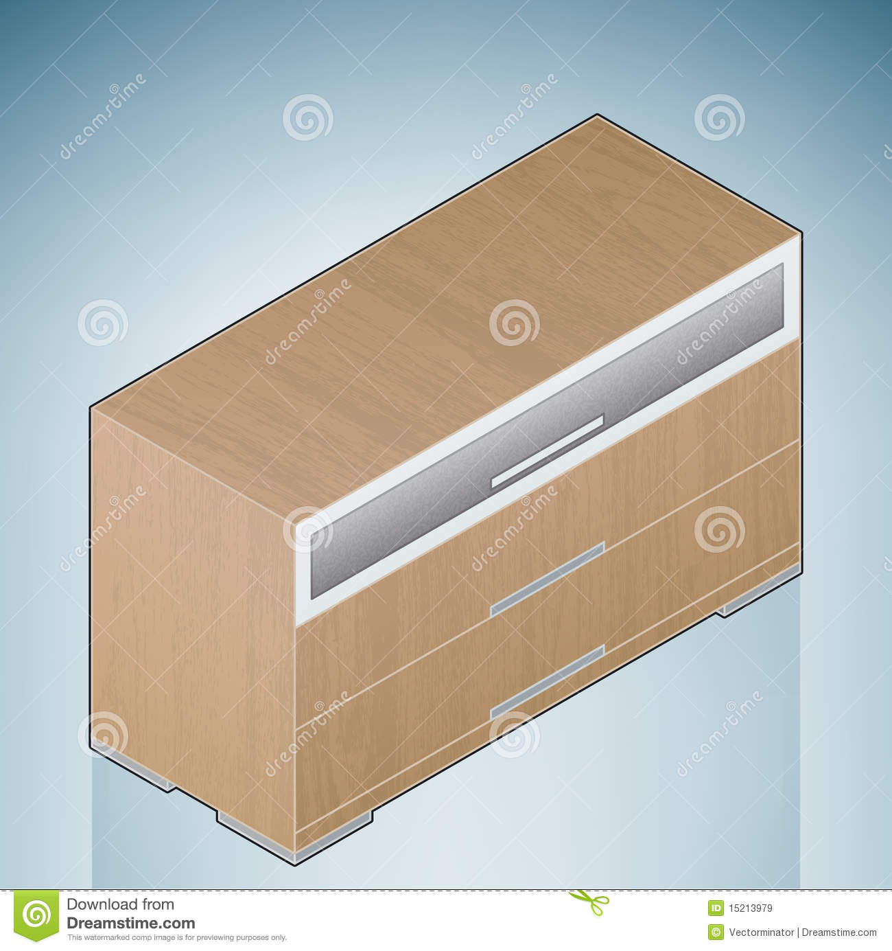 Furniture Bedroom Chest Of Drawers With Glass Royalty Free Stock Images Image 15213979