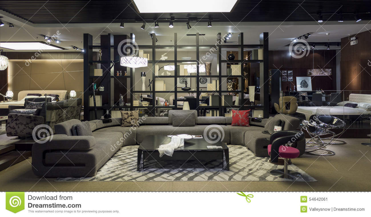 Furniture boutique stock photo image 54642061 for Room store furniture