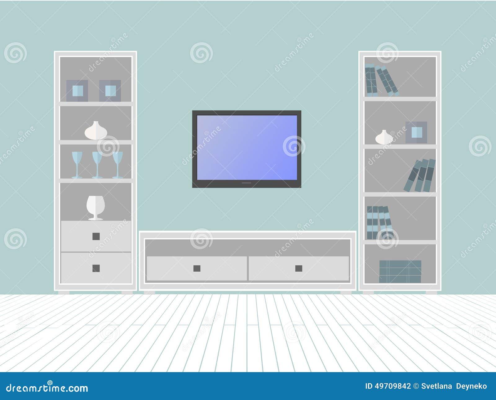 Furniture Box Stock Vector Image 49709842