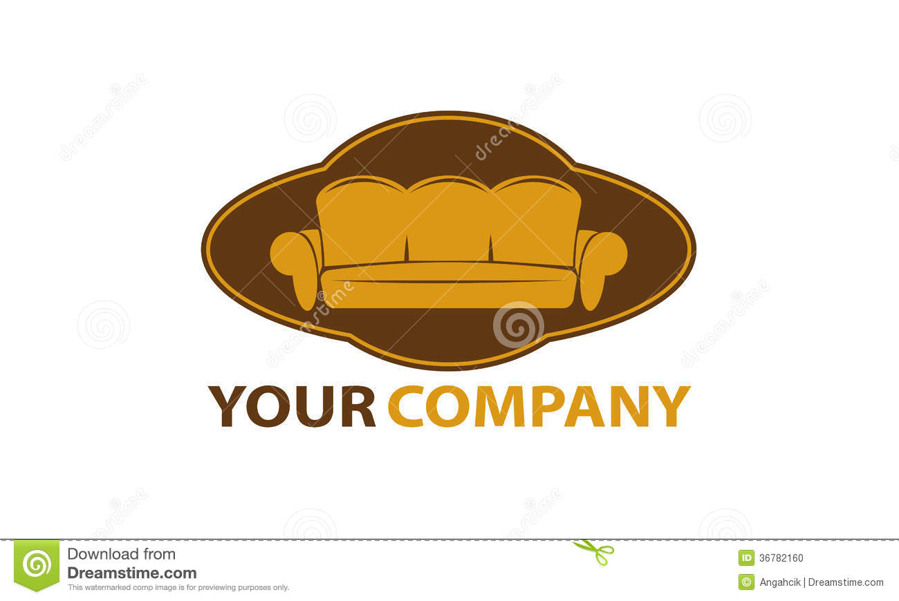 Furniture company logo stock vector. Image of vector ...