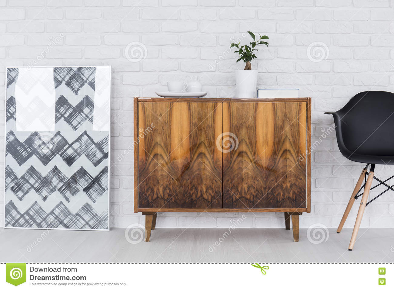 Furniture And Decorations Home Design Ideas Stock Photo