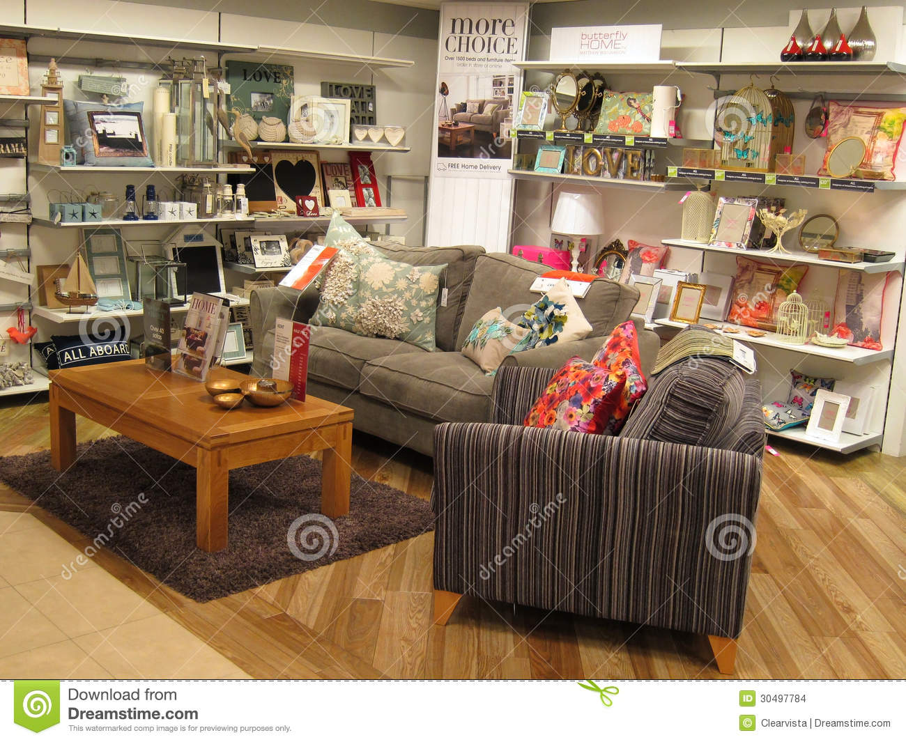 Furniture Display Editorial Stock Image Image Of Sofa