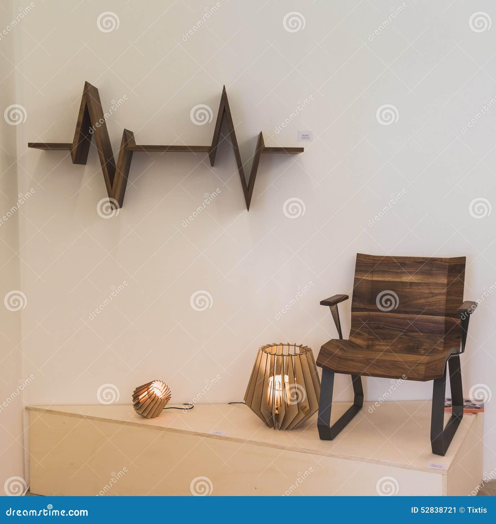 Furniture Display At Ventura Lambrate Space During