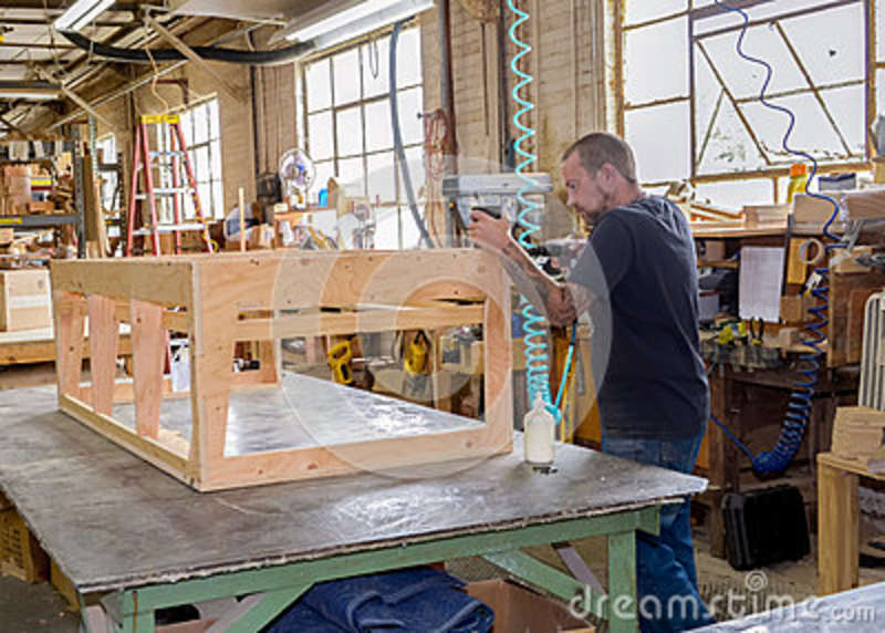 Furniture Frame Builder Stock Photo Image Of Modern