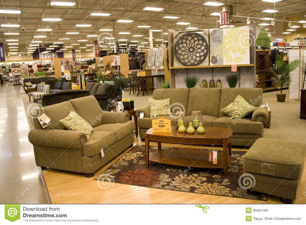 Furniture And Home Decor Store Editorial Photography
