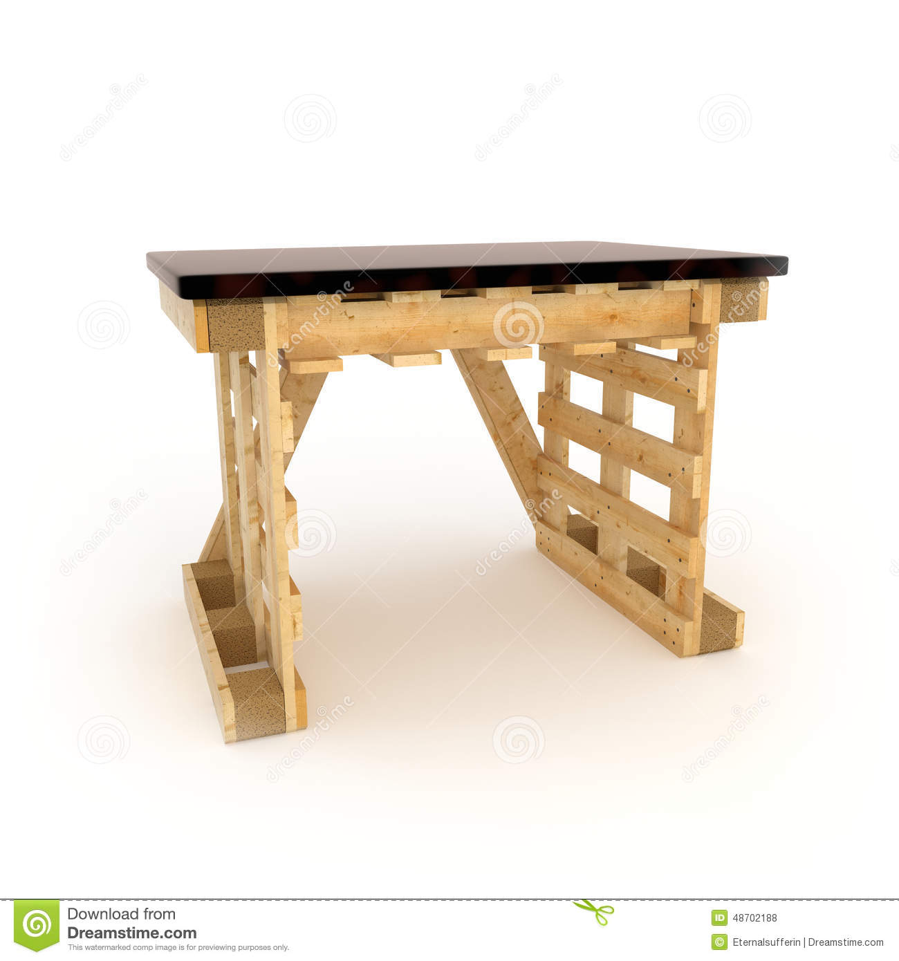 Furniture Made With Wooden Pallets Stock Photo Image Of Wood  # Muebles Pailets