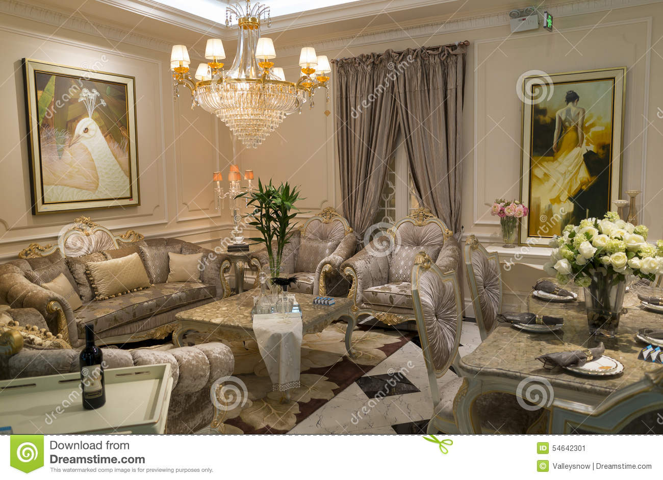 Chinese chandelier lanterns editorial image for Z furniture outlet las vegas