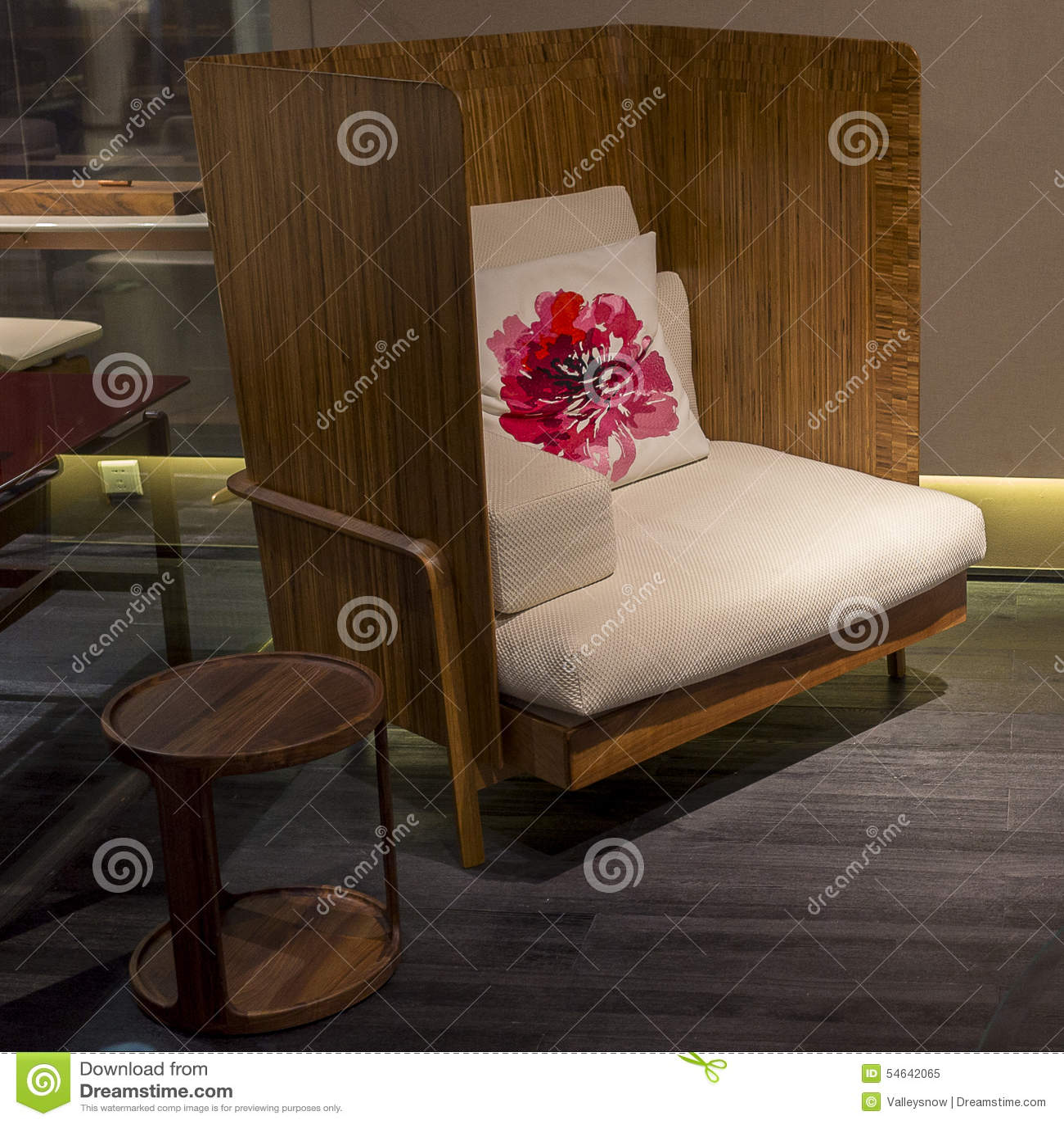 Furniture Model Stock Photo Image 54642065