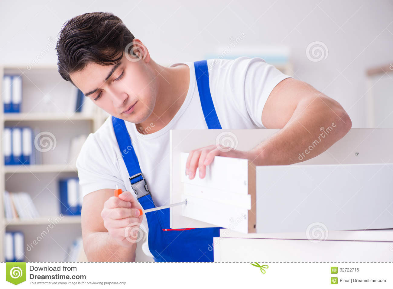 The Furniture Repair And Assembly Concept Royalty Free Stock Photo 93113169