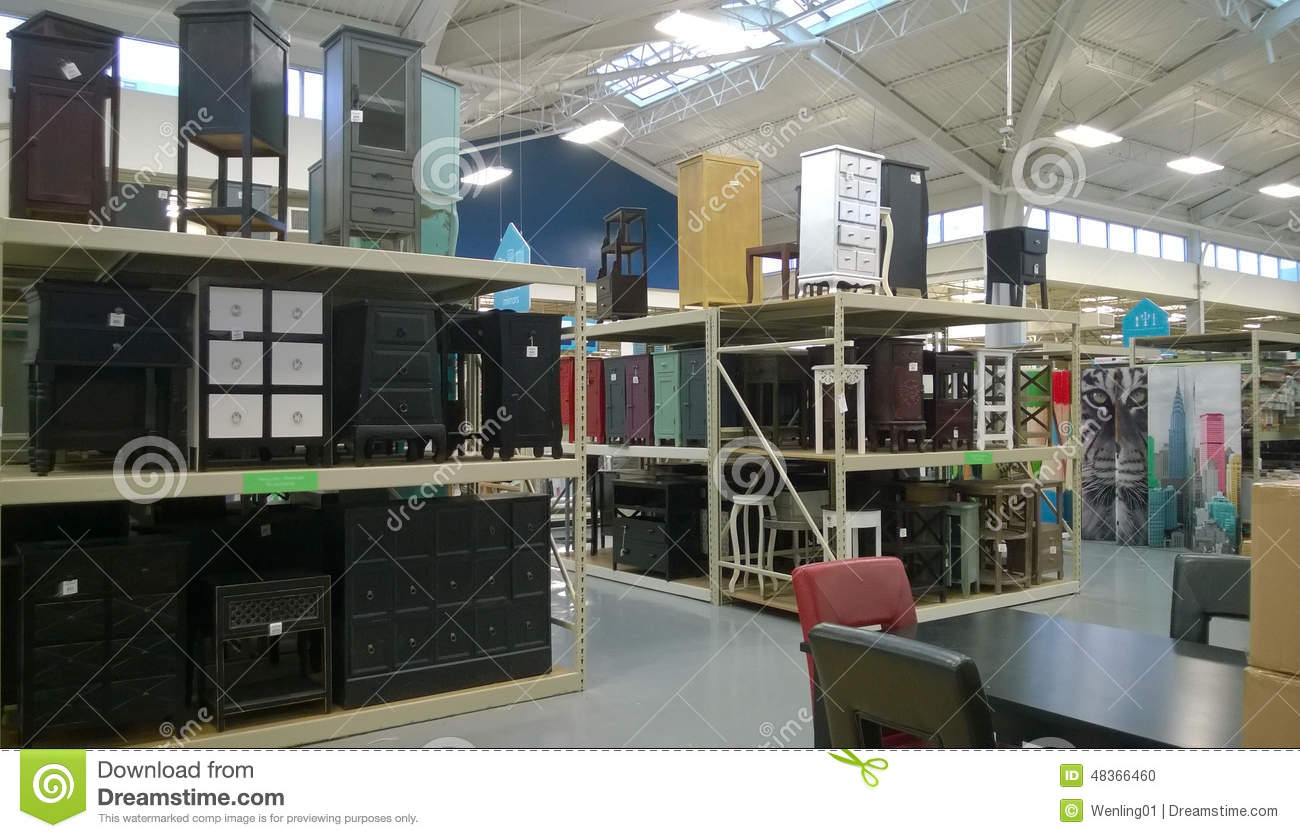 Furniture Selling At Home Furnishing Store Editorial Image