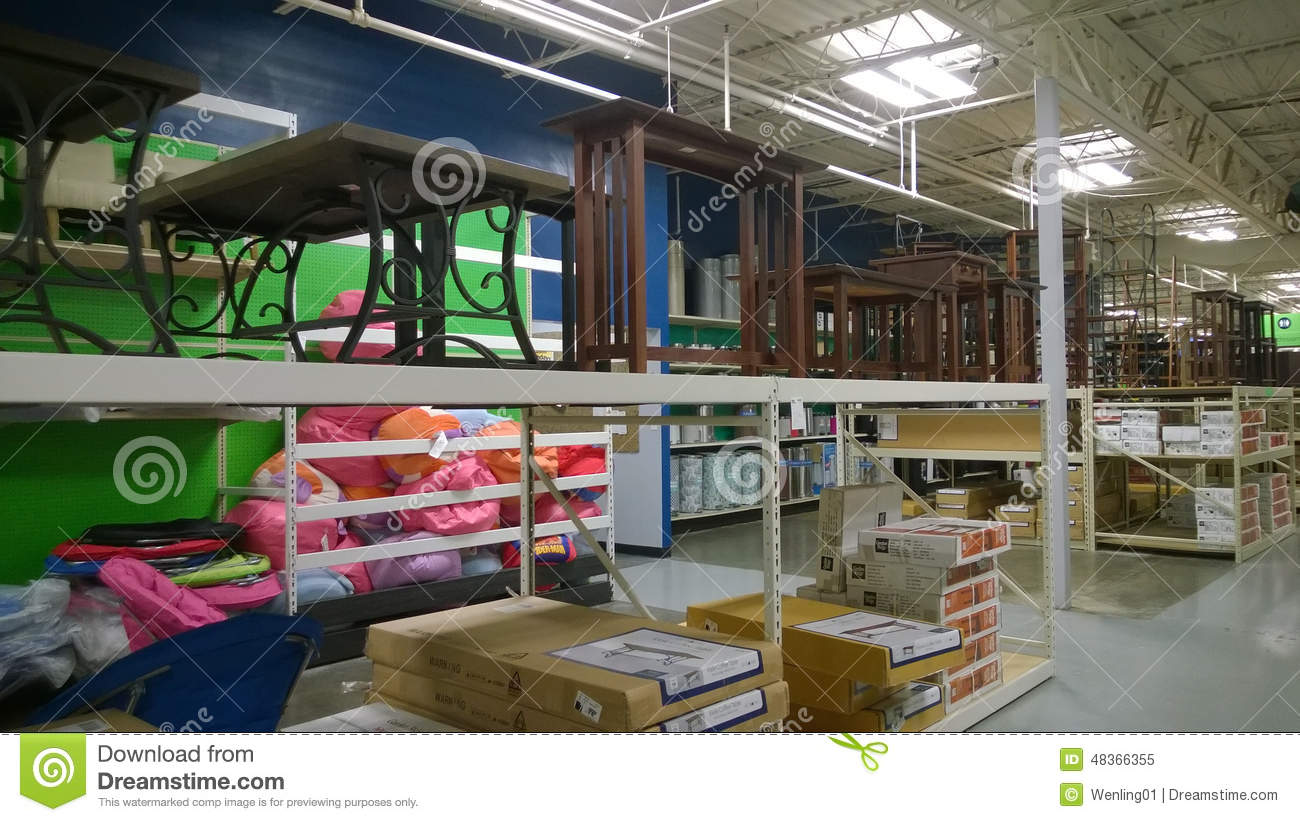 Furniture On Shelves Selling Editorial Image Image 48366355