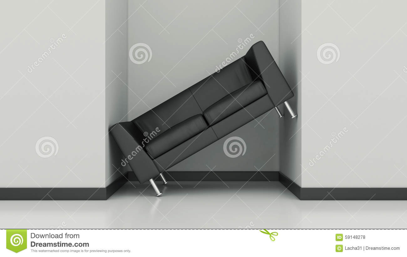 Furniture In Small Space Stock Illustration Image 59148278